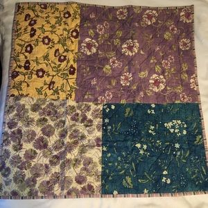 Pottery Barn Quilted Euro Sham Patchwork